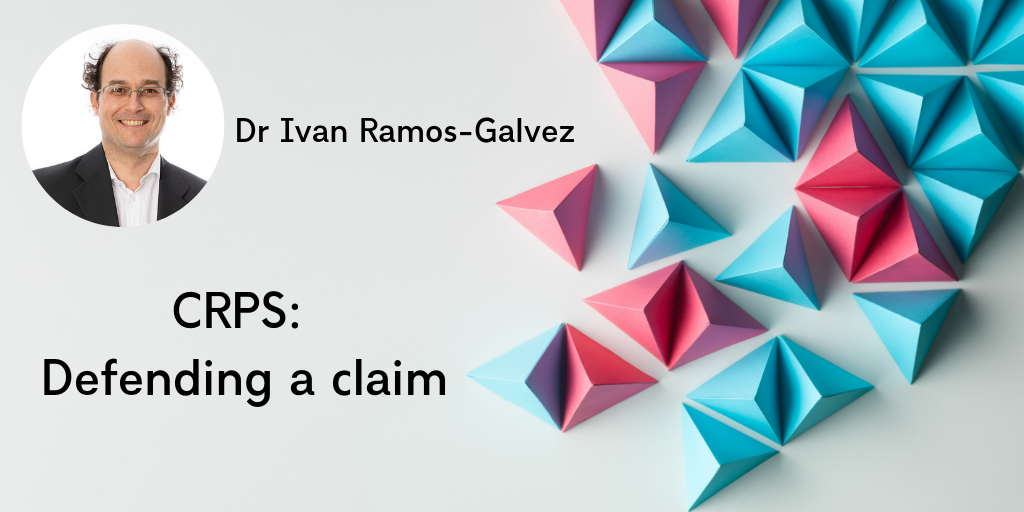 Dr Ramos-Galvez is a medico legal expert witness specialising in CRPS